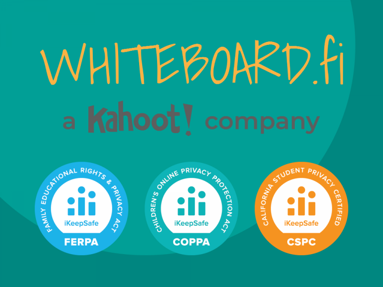 Whiteboard.fi is now FERPA, COPPA and CSPC certified!